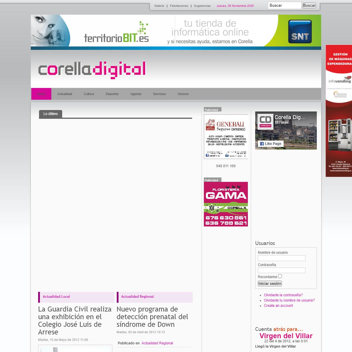 Corella Digital - Toda la informacion de tu ciudad