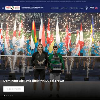 Home - Dubai Duty Free Tennis Championships