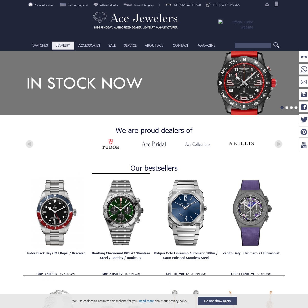 AceJewelers.com - Shop luxury watches and jewelery online at Ace Jewelers, authorized by each brand.