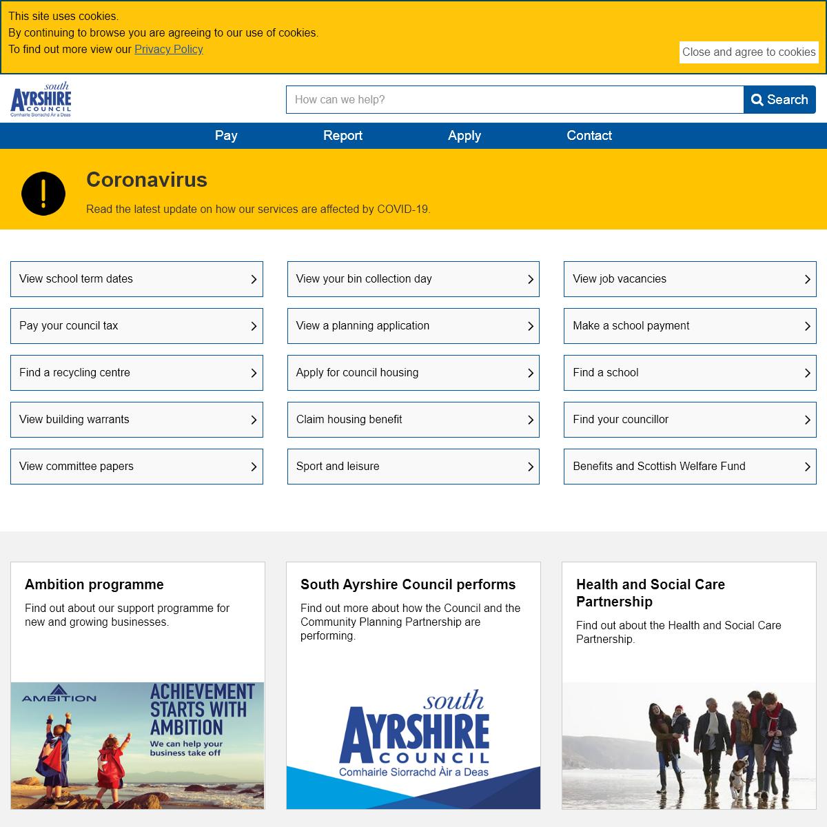 South Ayrshire Council