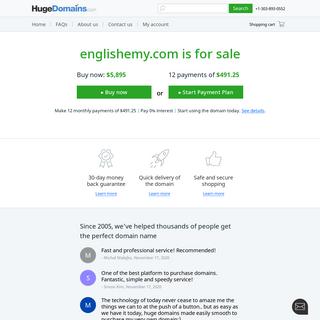 HugeDomains.com - englishemy.com