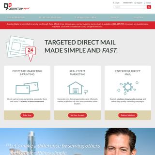 Online Printing & Targeted Direct Mail - QuantumDigital