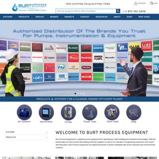 Fluid Handling and Treatment - Burt Process Equipment