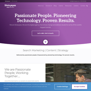 Stickyeyes- Digital & Content Marketing Agency - Leeds & London