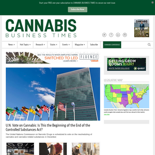 Cannabis Business Times - News, legalization updates, strategies and opportunities for growers, cultivators
