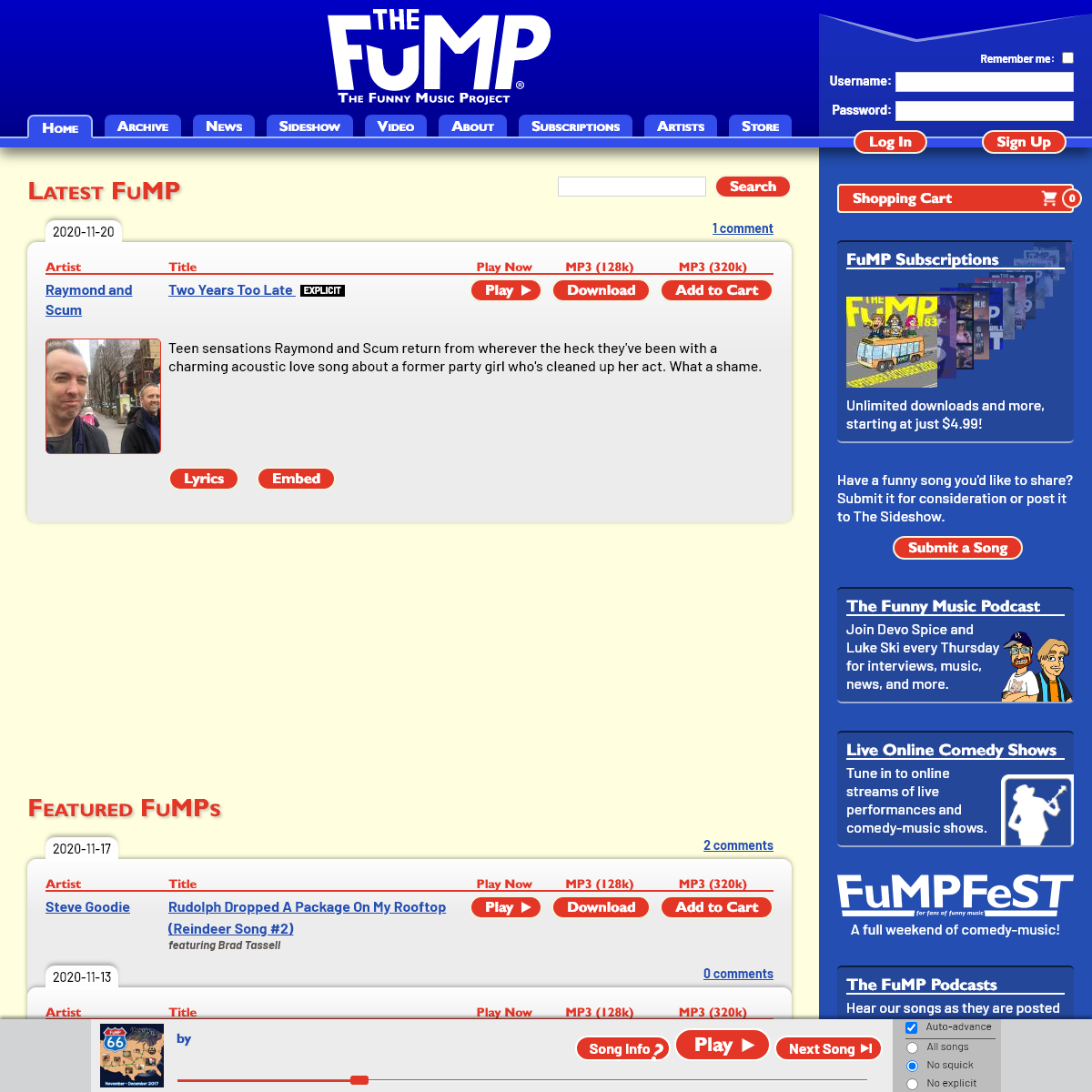 The FuMP - The Funny Music Project