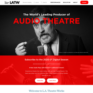 L.A. Theatre Works - LATW