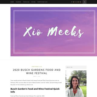 xiomeeks - runner, traveler and foodiexiomeeks