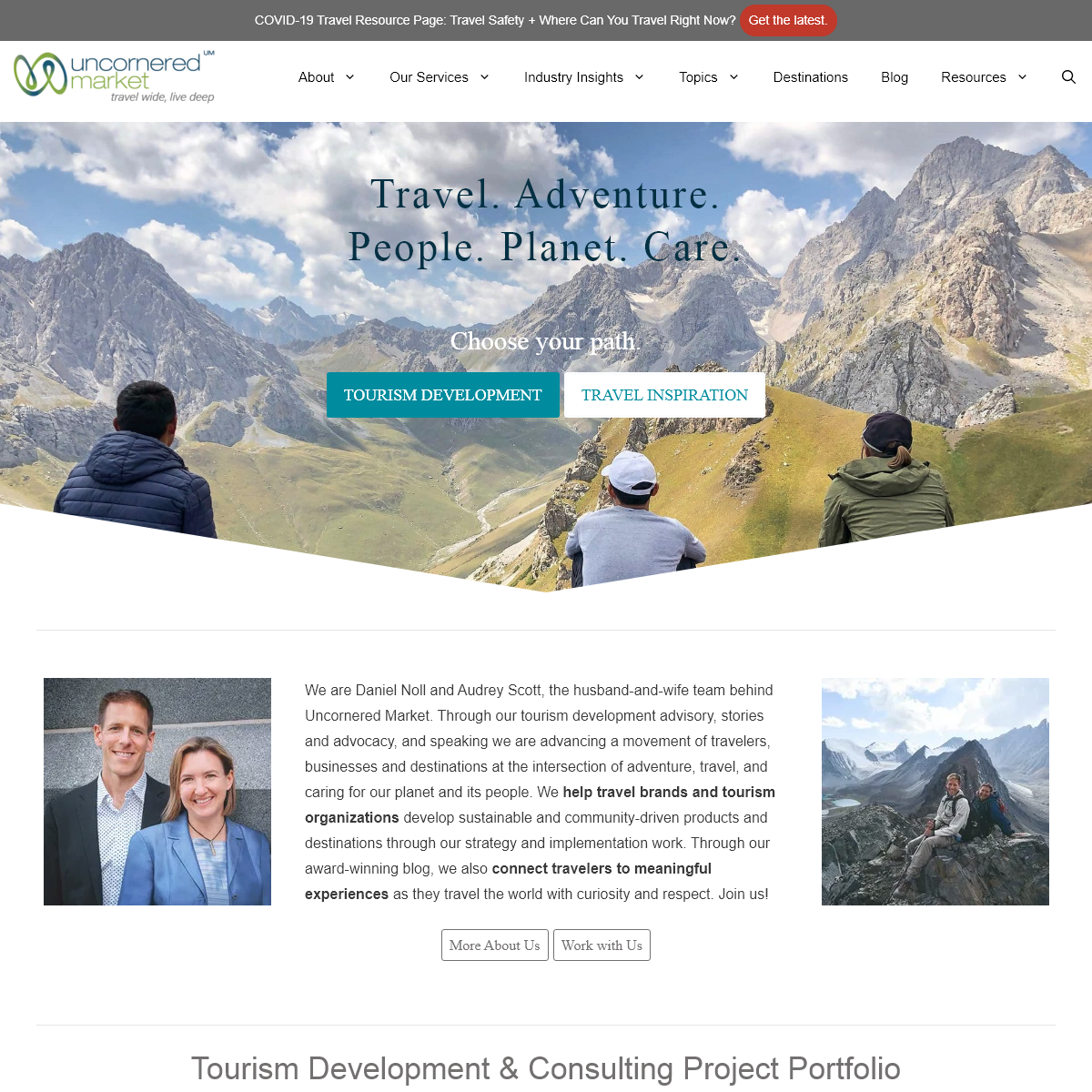 Uncornered Market - Travel That Cares for Our Planet and Its People