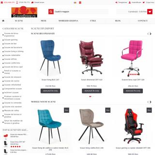 Scaune Online - o gama variata de scaune la preturi avantajoase