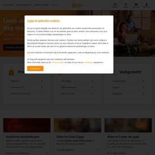 Je aanbieder voor Televisie, Internet en Bellen - Altijd verbonden - Ziggo
