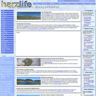 Harz Reiseführer ★ Infos ✔ Tipps ✔ Bilder ✔ Events ✔ Urlaub im Harz ✔