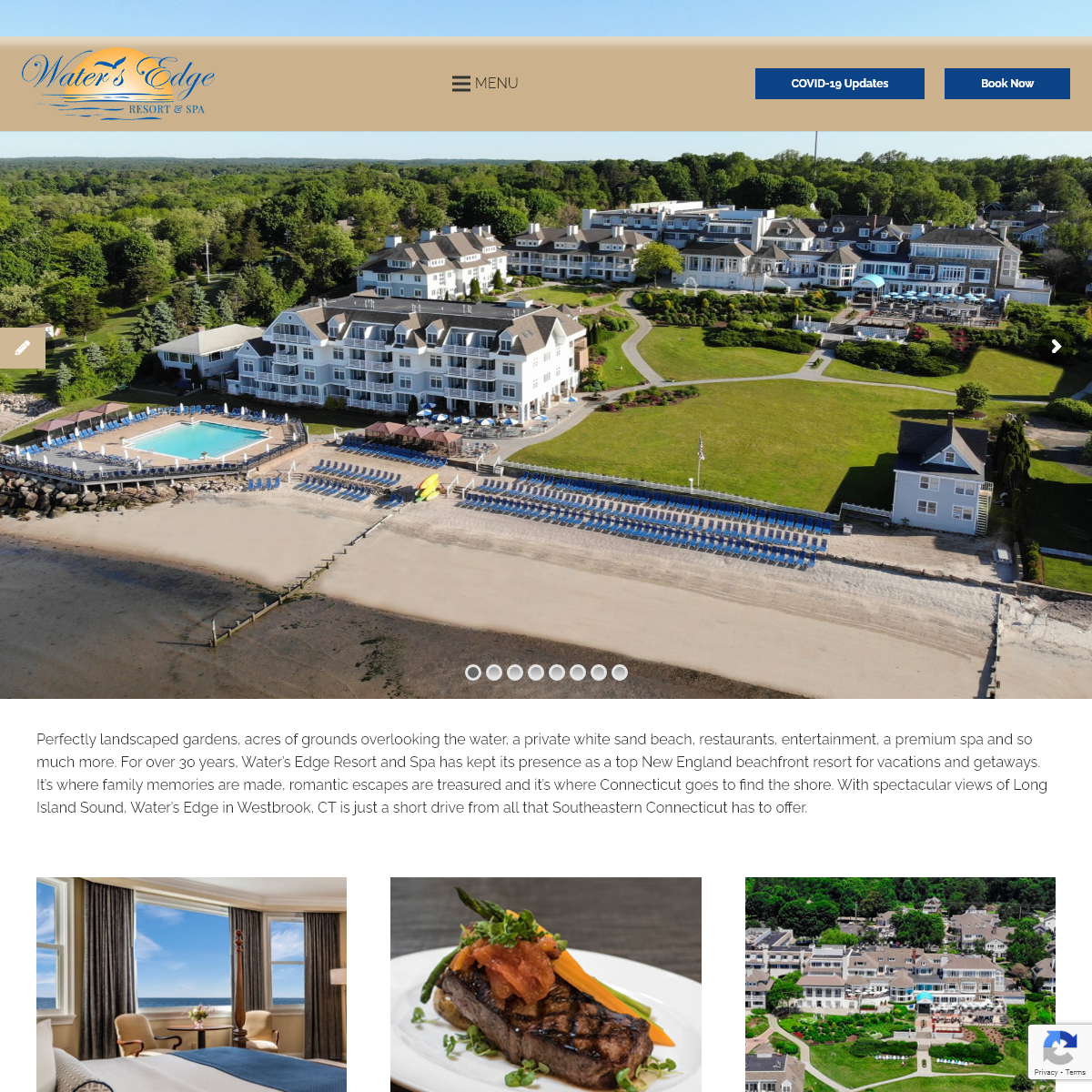Connecticut Beach Hotel - Water`s Edge Resort & Spa - Westbrook, CT