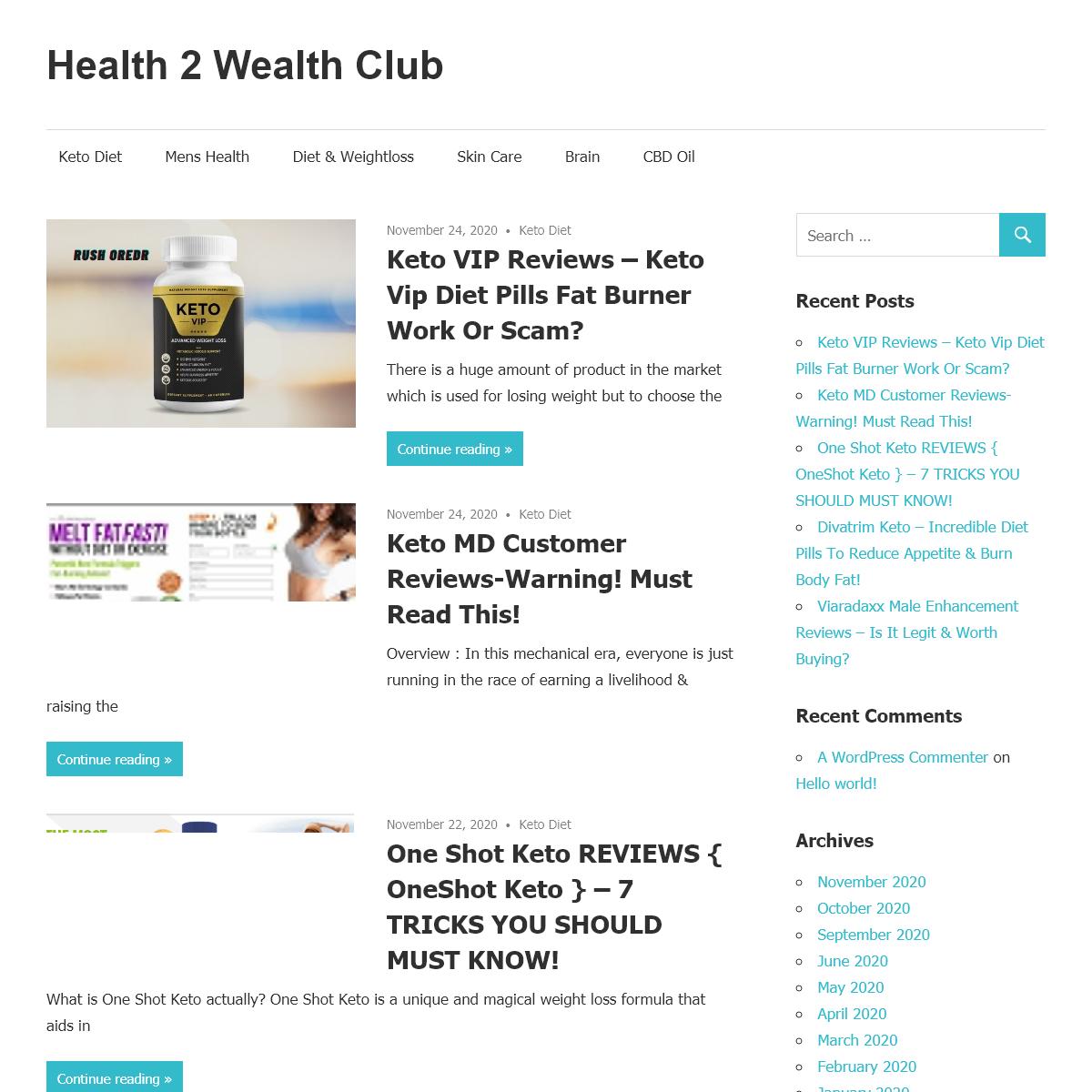 Health 2 Wealth Club -
