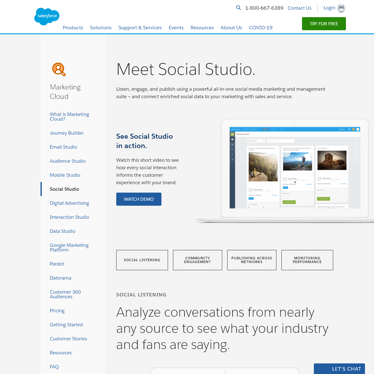 Engage Customers with Social Media Marketing - Salesforce.com