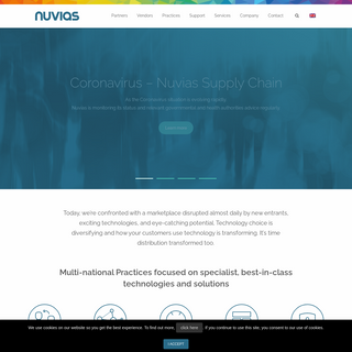Specialist IT Distribution - Solutions-Led, Agile, Adaptable - Nuvias
