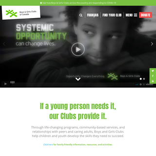 Boys and Girls Clubs of Canada -