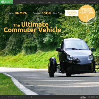 Elio Motors - The next big thing in transportation!