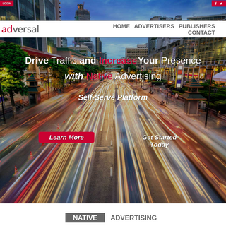 Adversal - The Native Advertising Platform