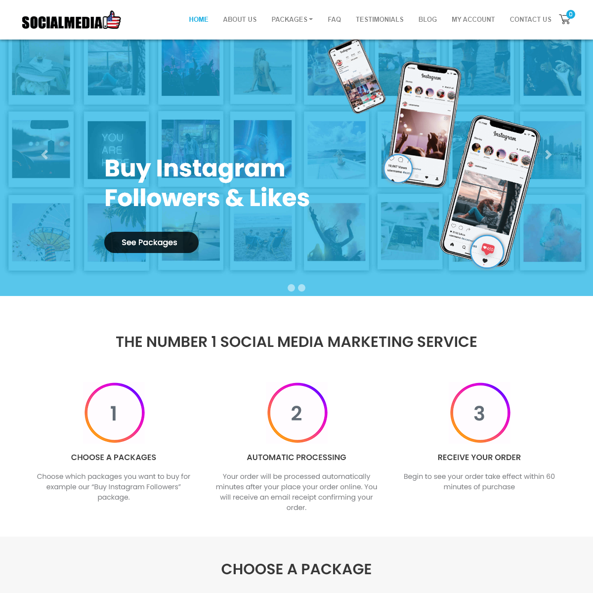 Social Media Likes USA - Buy Instagram Followers, Likes & Views