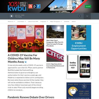 KWBU - Heart of Texas Public Radio