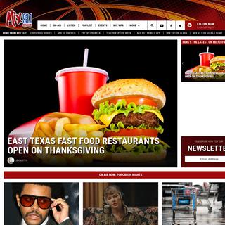 Mix 93.1 – East Texas` #1 Hit Music Station – Tyler Pop Radio