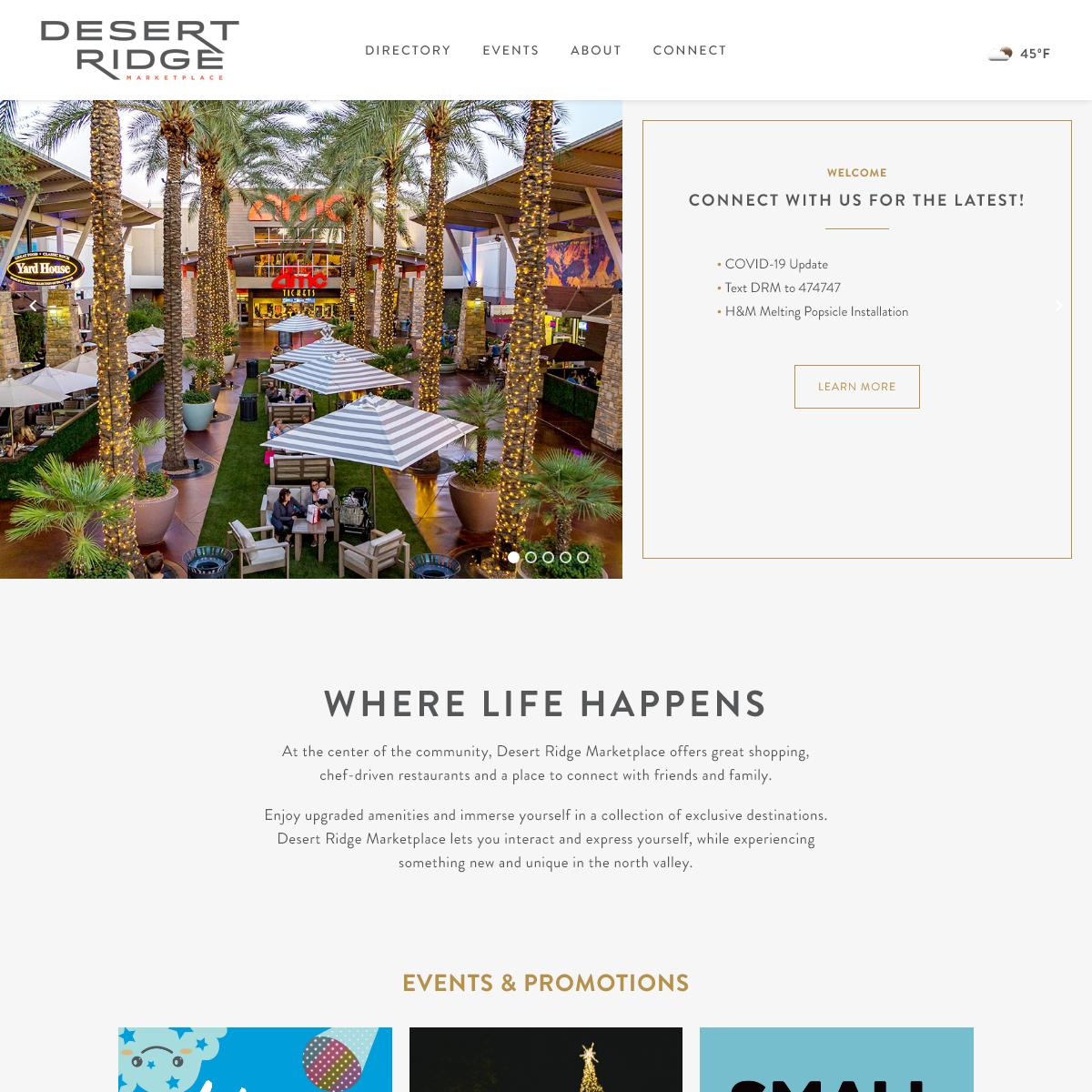 Desert Ridge Marketplace - Where Life Happens