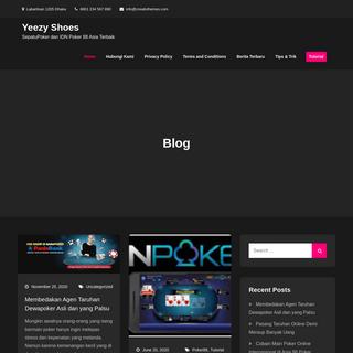 Yeezy Shoes - SepatuPoker dan IDN Poker 88 Asia Terbaik