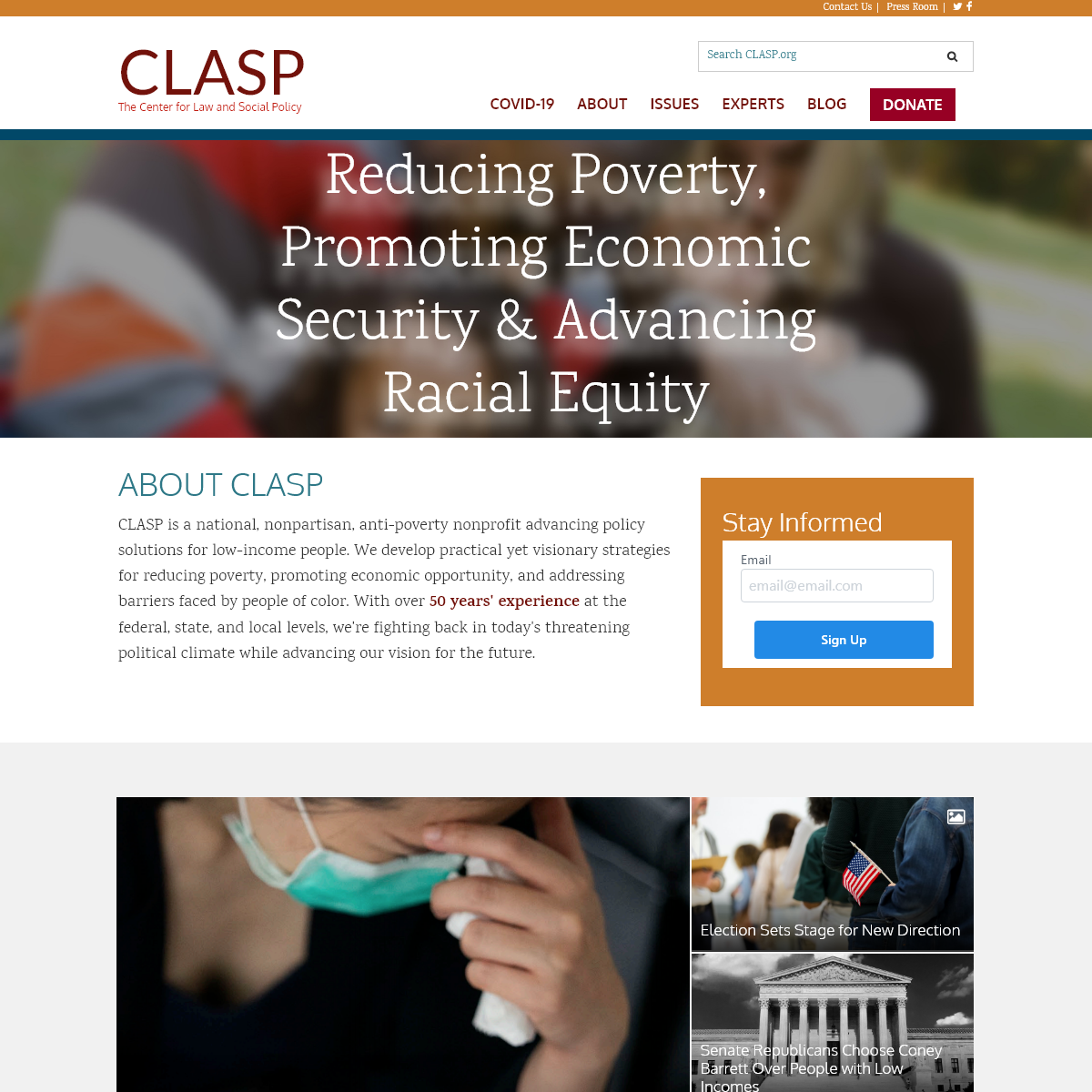 CLASP - The Center for Law and Social Policy