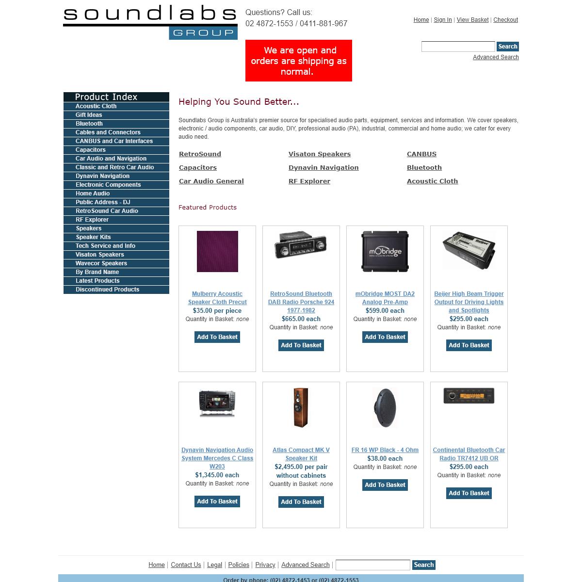 Soundlabs Group