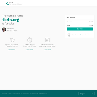 The domain name tiets.org is for sale