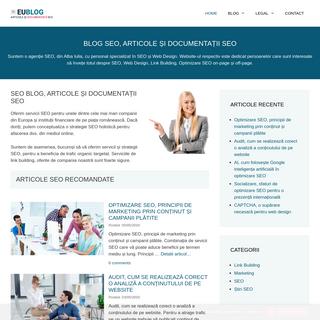 SEO Blog, Articole și Documentații SEO, Ce este nou în SEO