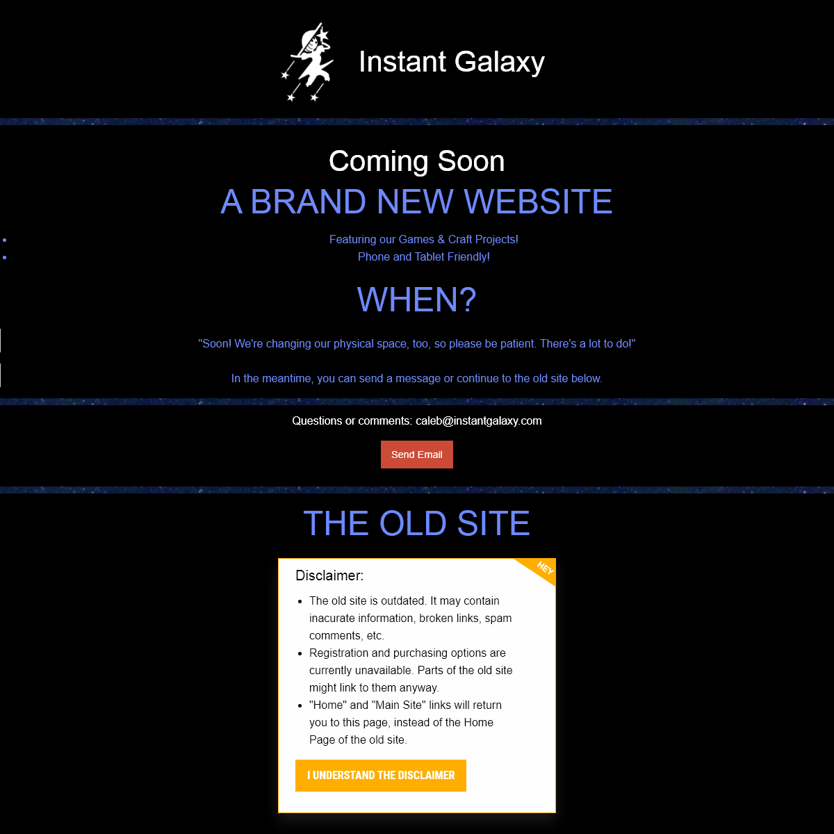 Instant Galaxy - Activities for the Human in You!