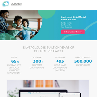 On Demand Virtual Mental Health Platform - SilverCloud Health