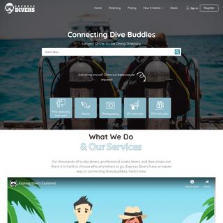 SCUBA DIVING - Connecting Dive Buddies Via The Largest Online Directory