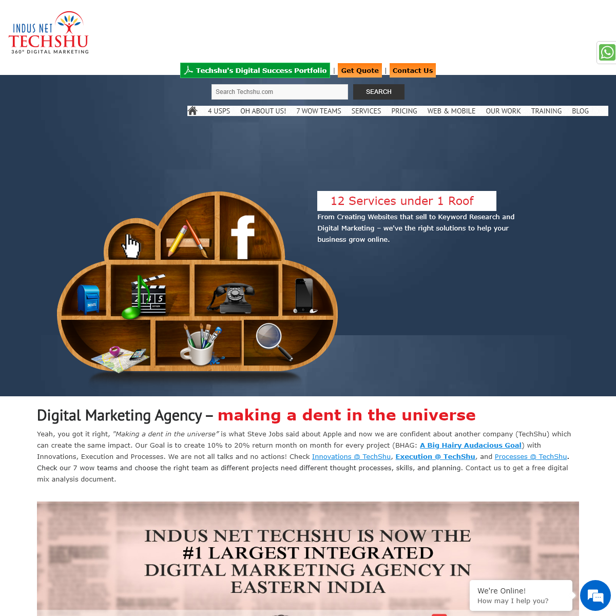 Techshu.com – 360° Digital Marketing Agency In India