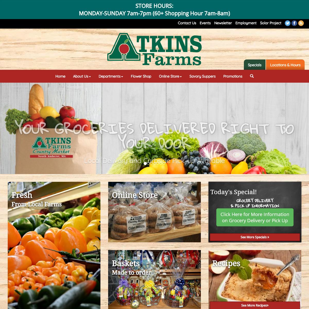 Atkins Farm Country Market - Amherst MA