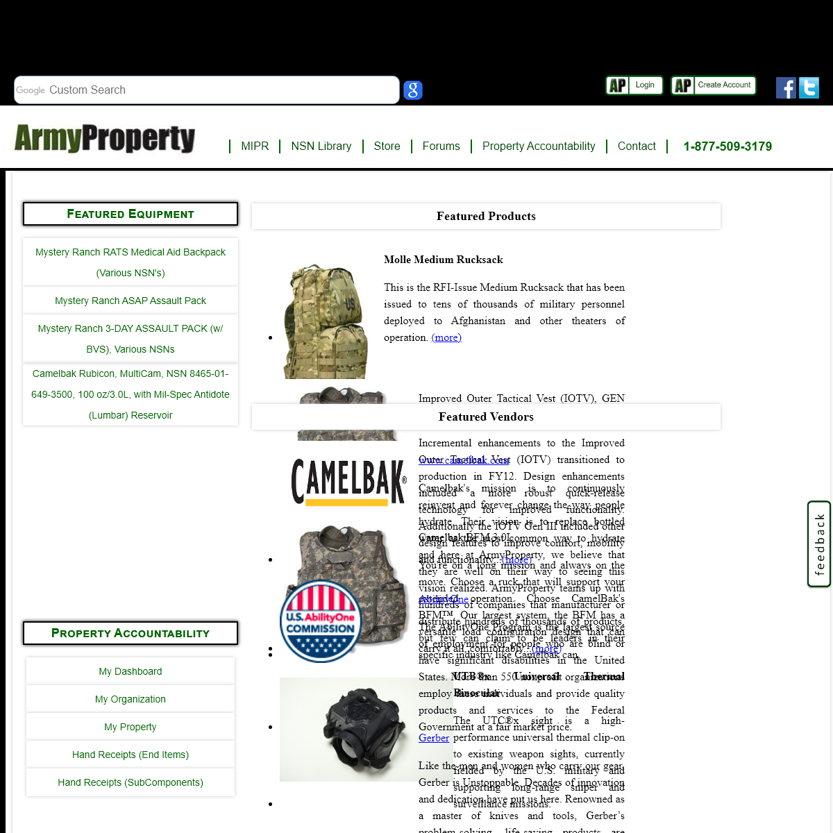 Welcome to ArmyProperty.com!