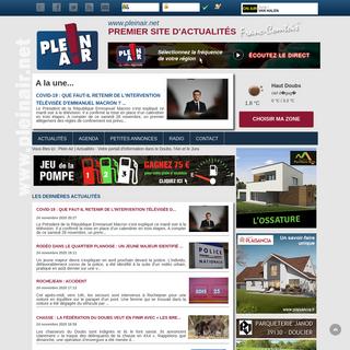 Plein Air - Actualités - Votre portail d`information dans le Doubs, l`Ain et le Jura