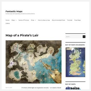 Fantastic Maps - Fantasy maps and mapmaking tutorials by Jonathan Roberts