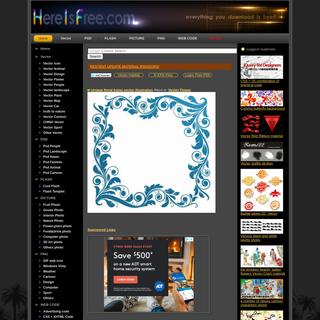 Download Free Vector,PSD,FLASH,JPG--www.hereisfree.com