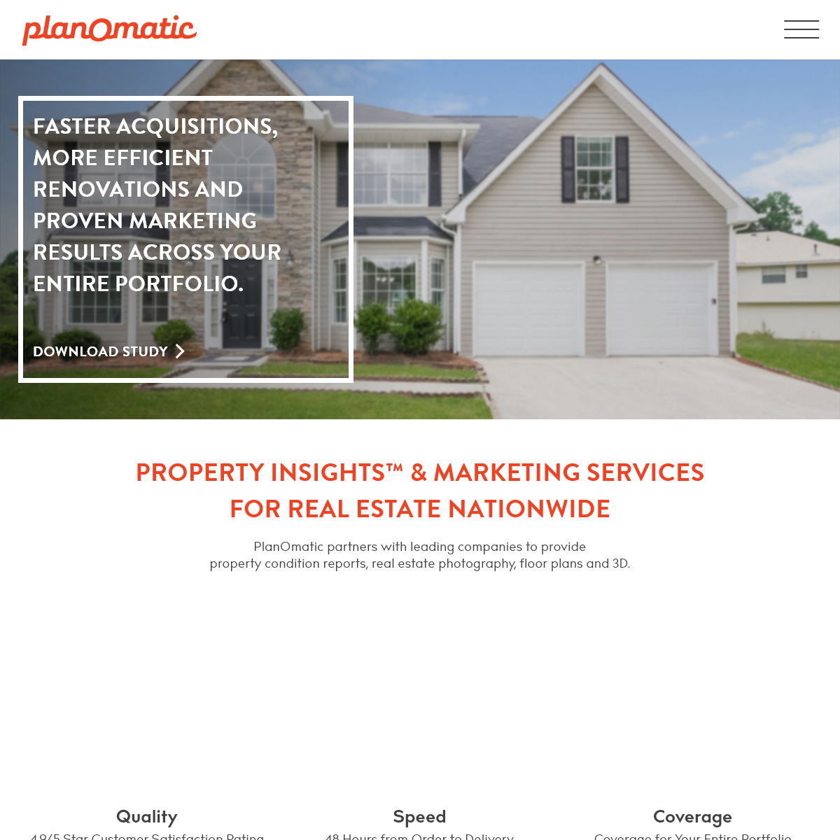 Real Estate Photography and Property Insights™ - PlanOmatic