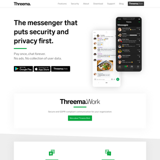 Threema - Secure and Private Messenger