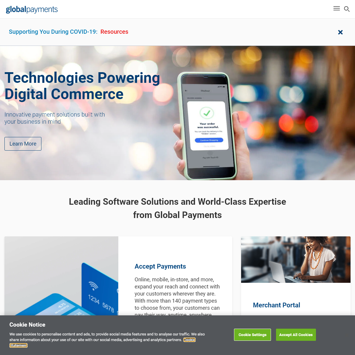 Unrivaled Payments Expertise - Global Payments