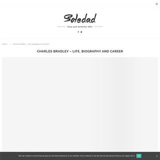 Charles Bradley - Life, Biography and Career - The Charles Bradley