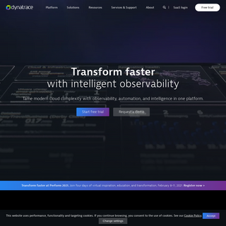 The Leader in Cloud Monitoring - Dynatrace