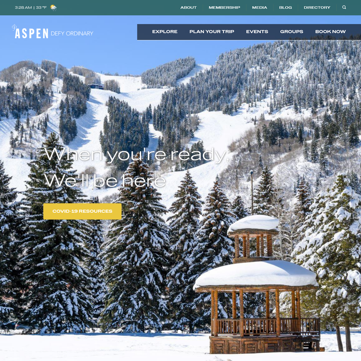 A Welcoming Mountain Town; Defy Ordinary - Aspen, CO