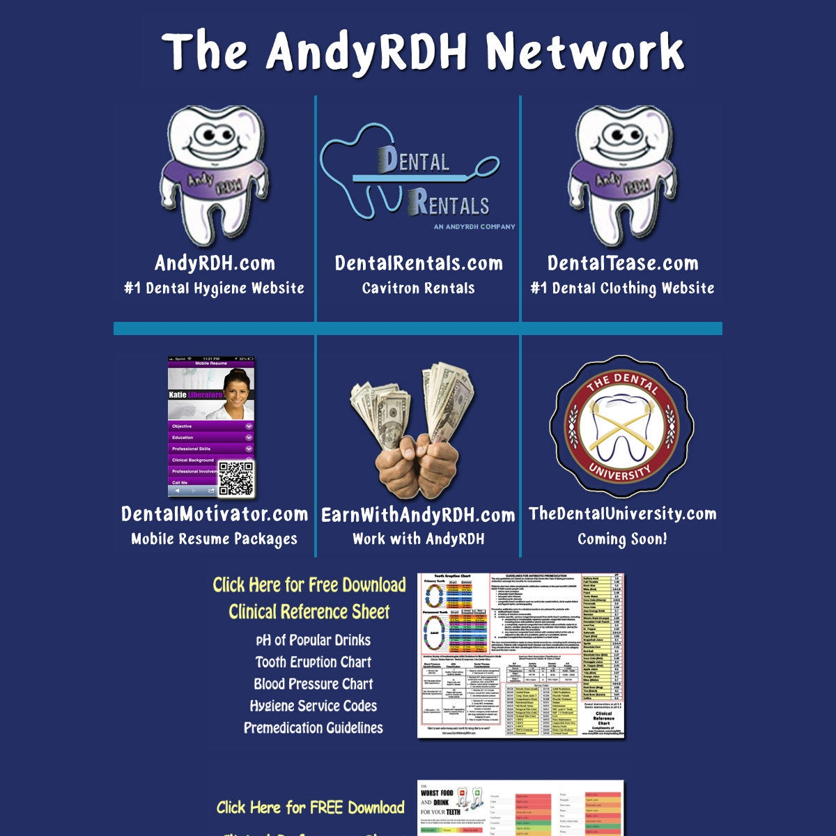 AndyFutureRDH.com - The #1 site on the net to study for national boards! Dental Hygiene Board Review, Dental Hygiene National Bo