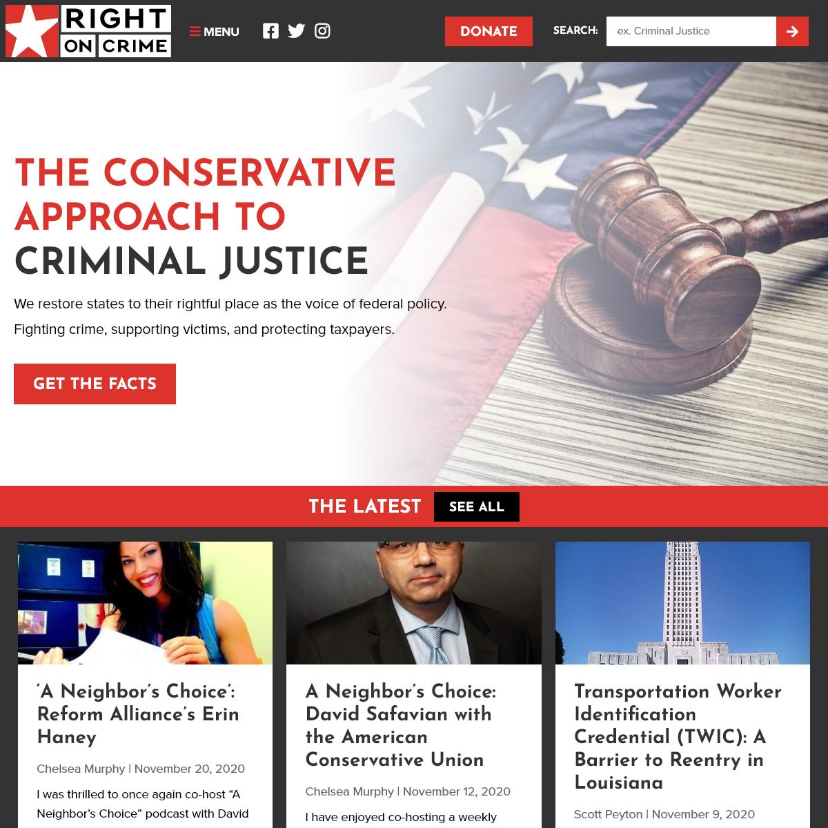 Home - Right on CrimeRight on Crime