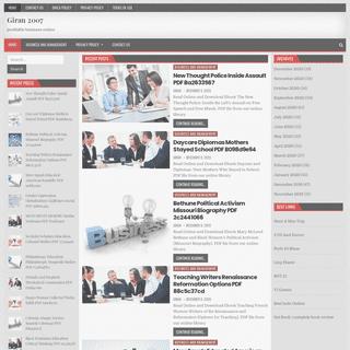 Giran 2007 – profitable business online